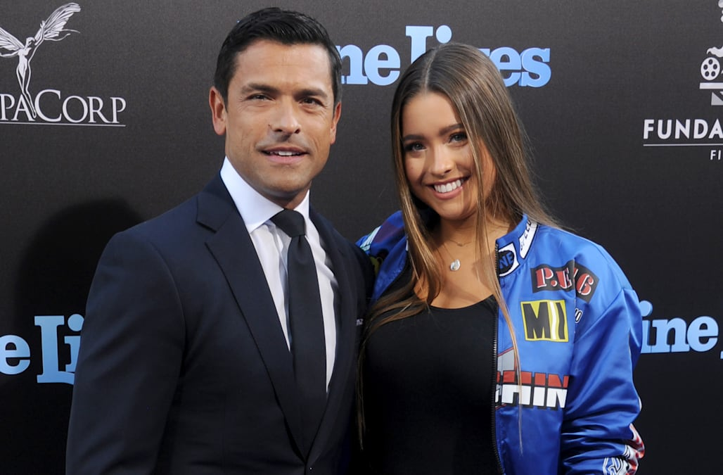 Mark Consuelos on living in L A  with his teenage children
