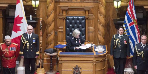 B.C. Throne Speech: Clark's Liberals Promise Electoral Reform Referendum, Cut Sales Tax