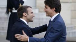 Trudeau rend visite aux étudiants de Sciences Po avant de s'exprimer à
