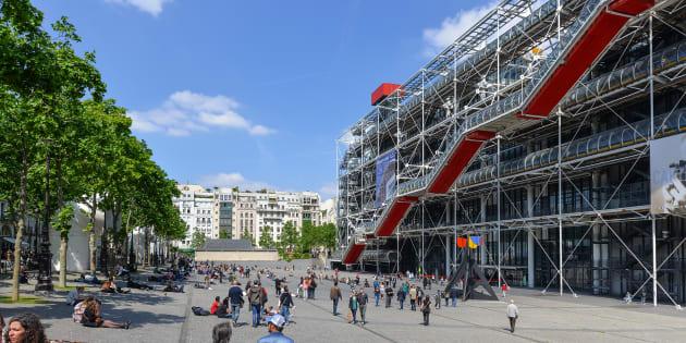 Les agents du Centre Pompidou sont en grève non pas pour eux-mêmes mais pour la pérennité du musée