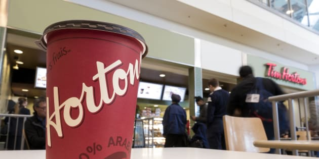 Tim Hortons president Alex Macedo says the brand was slow to change the lids because many franchiseesfigured thata redesign wasn't worth the effort.