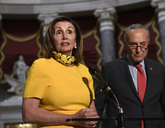 Coronavirus deal between Dems, WH takes shape