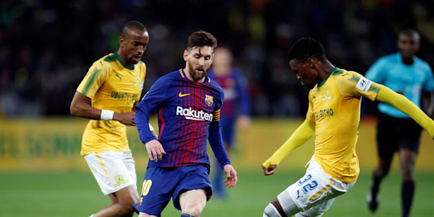 Barcelona v Mamelodi Sundowns - FNB Stadium, Johannesburg, South Africa - May 16, 2018.