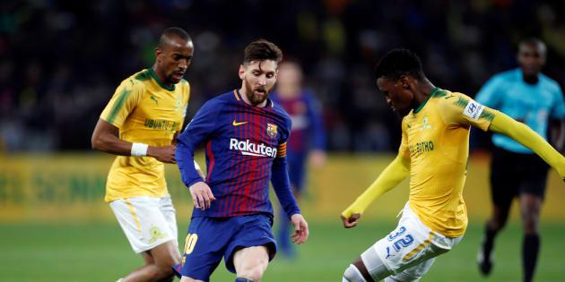Barcelona v Mamelodi Sundowns - FNB Stadium, Johannesburg, South Africa - May 16, 2018.