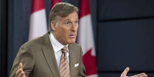 Le député de Beauce Maxime Bernier multiplie depuis quelques temps les attaques virulentes contre Justin Trudeau.