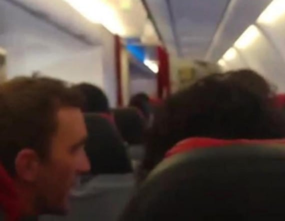 Pilot tells passengers to pray during wild flight