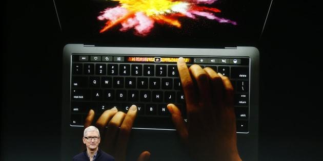 Apple dévoile son premier Mac Book Pro depuis 3 ans.