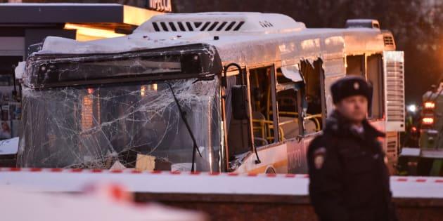 Un bus fonce dans un passage souterrain à Moscou et tue plusieurs personnes