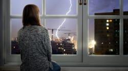 Face aux orages et à l'angoisse qu'ils suscitent, la méditation est une précieuse