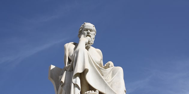 Statue de Socrates (illustration)