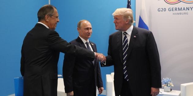 Putin, Trump e Lavrov al G20 di Amburgo