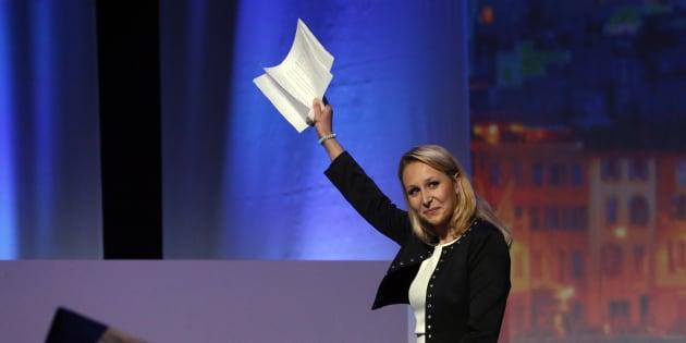 Marion Marechal-Le Pen à Marseille lors du meeting de Marine Le Pen le 19 avril.