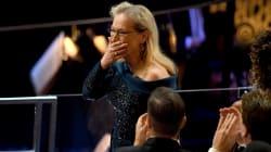 La reacción de Meryl Streep después del error del Oscar se merece un
