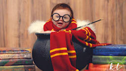 This Baby Had A 'Harry Potter' Photo Shoot And It Was