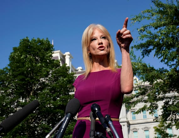 Reporter reacts to Conway's 'inappropriate question'