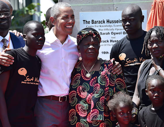 Obama makes first post-presidency visit to Kenya