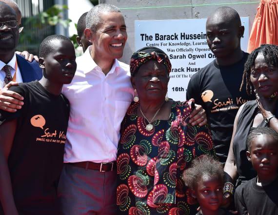 Obama makes first post-presidency visit to Kenya
