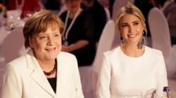 Ivanka in bianco al gala di Berlino dimostra che è lei la vera first lady