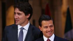 Première visite officielle de Justin Trudeau au