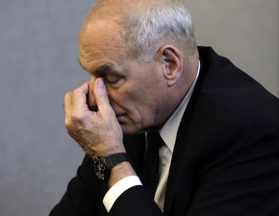 John Kelly proposed separating families last year