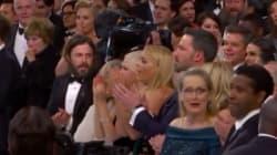 Meryl Streep remporte l'Oscar de la meilleure réaction face à la victoire surprise de