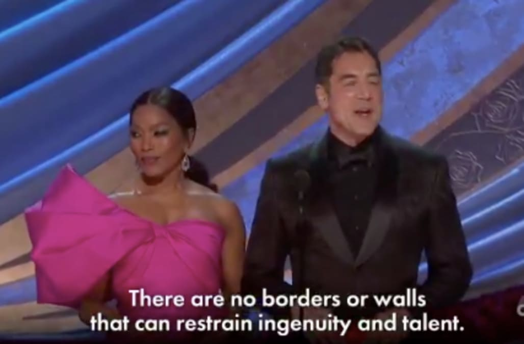 Oscar Best Foreign Film 2019 Oscars: Javier Bardem condemns border walls while presenting Best