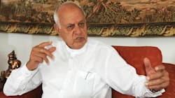Those Who Pelt Stones In Kashmir Are Only Fighting For The Nation, Says Farooq