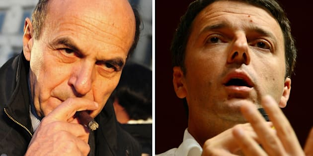 Renzi e Bersani in una foto del 2012