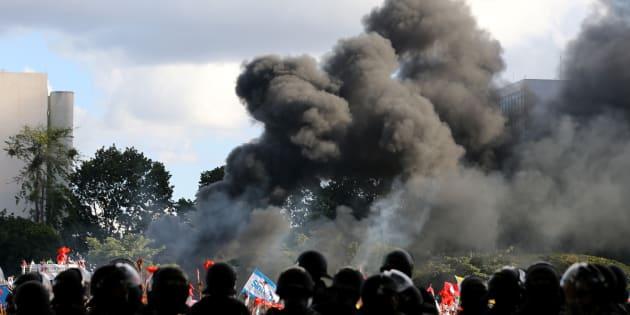 Protestos do dia 24 de maio foram marcados por violência e pleito pela antecipação de eleições diretas.