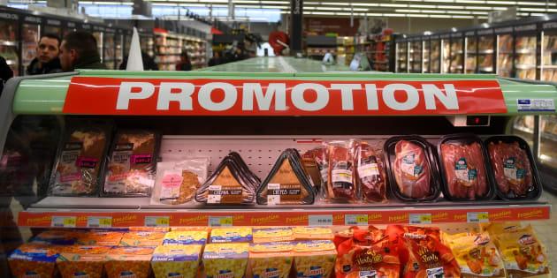 """Vous ne verrez bientôt plus marqué """"gratuit"""" lors des promotions alimentaires."""