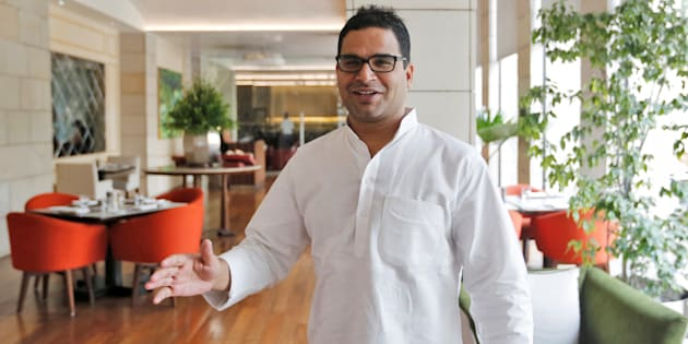 File photo of Prashant Kishor, political strategist of the Congress party.