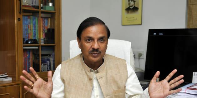 Indian Culture Minister Mahesh Sharma.