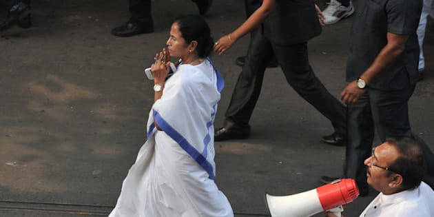 West Bengal Chief Minister Mamata Banerjee in a file photo.