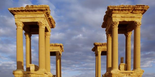Daech a détruit le Tétrapyle, l'un des plus célèbres monuments de Palmyre