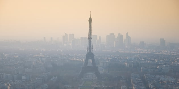 Peut-on échapper à la pollution de l'air? (Photo d'illustration Paris)