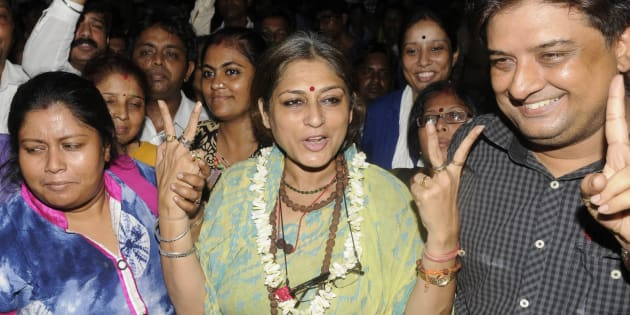 Complaint filed against Roopa Ganguly over 'rape remark'
