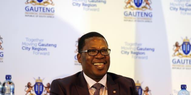 JOHANNESBURG, SOUTH AFRICA OCTOBER 17: Gauteng Education MEC Panyaza Lesufi (Photo by Gallo Images / Sowetan / Thulani Mbele)