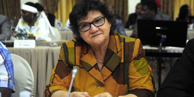 Public Enterprises Minister Lynne Brown before the start of the Cabinet lekgotla last month.