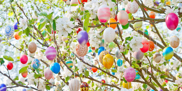 Easter trees are a charming, centuries-old German tradition.