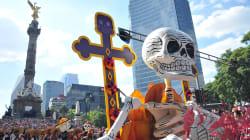 Así se ve el Día de Muertos en