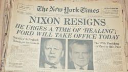 La serrure forcée du Watergate vendue aux