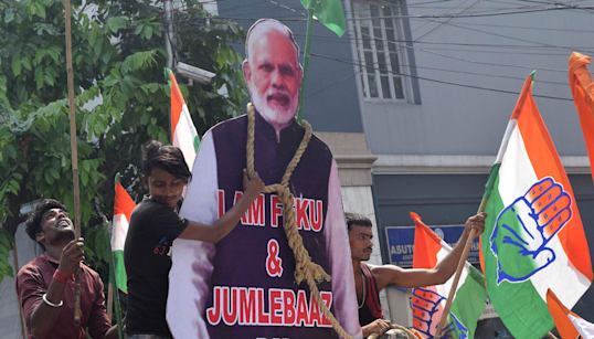 Confidence In Modi's Economy Has Plunged Drastically, But Congress Has No Reason To
