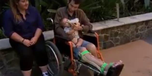 Reuben Lichter has undergone world-first leg surgery.