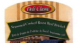 Rappel de produits de rôti de bœuf par Erie Meat Products