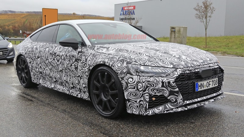 2020 Audi Rs7 Spied In Production Form Automotivetestdrivers Com