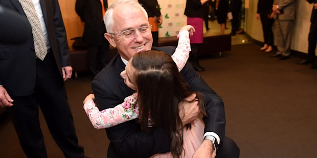 Malcolm Turnbull announced the latest election promise at Sydney Children's Hospital on Tuesday.