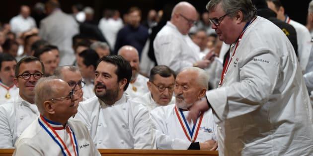 Obsèques de Paul Bocuse: Alain Ducasse, Yannick Alléno, Philippe Etchebest... les plus grands chefs étaient là