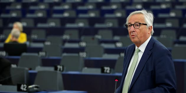 Juncker all'Italia:
