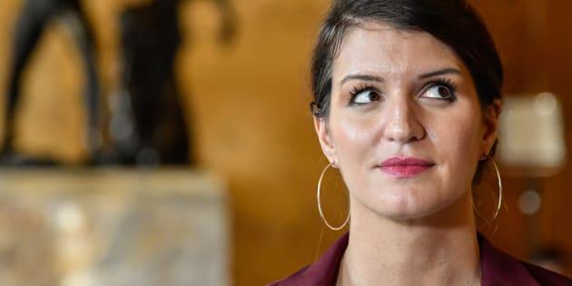Marlène Schiappa n est pas très impressionnée par les slogans de la Marche  pour la 7e102ab9ca5
