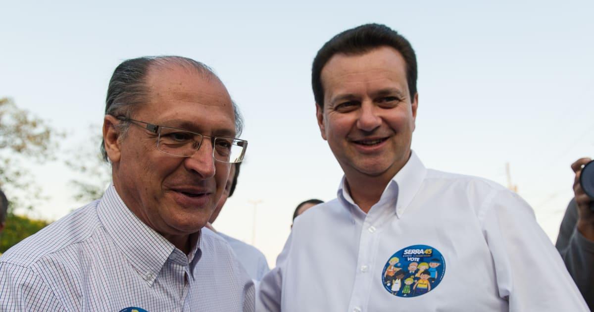 Resultado de imagem para kassab alckmin